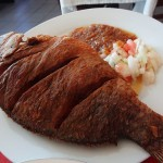 17 Fried Fish - Restaurant Abidjan