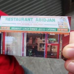 24 Restaurant Abidjan card