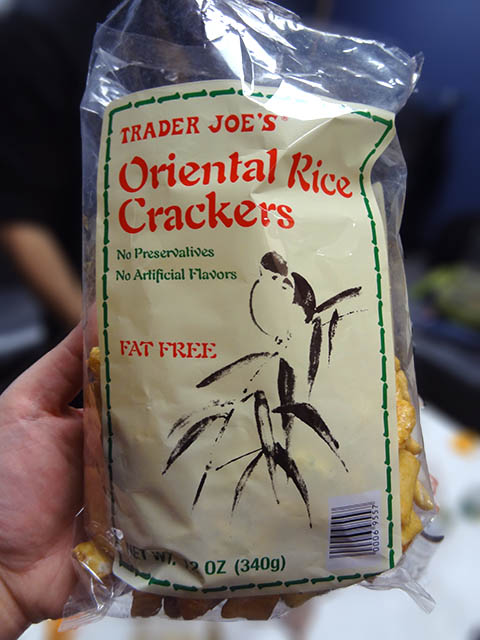 Trader Joe's Oriental Rice Crackers