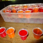10 Jello shots - Capri Social Club