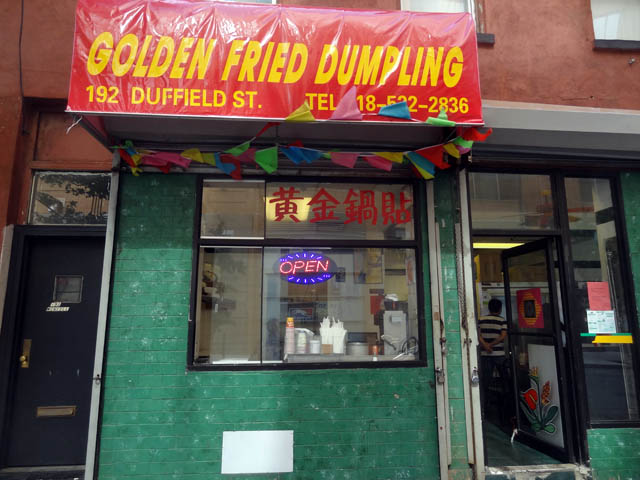 01 Golden Fried Dumpling - Brooklyn