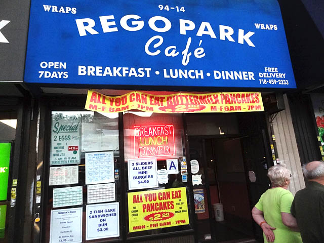 01 Rego Park Cafe The Best Sign Ive Seen
