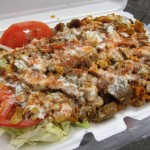 02 Lamb and Chicken over Rice Halal Cart Soho 150x150 Soho Halal Cart in front of H&M