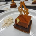 28 Sandro Micheli Almond Dacquoise Milk Chocolate Parfait Salted Caramel Tuile 150x150 Top 10 Pastry Chefs in America 2012
