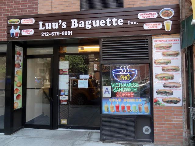 01 Luu's Baguette - NYC