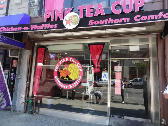01 Pink Tea Cup - Chicken and Waffles NYC