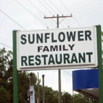03 Sunflower_restaurant sign