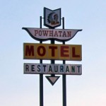 04 Pocahontas sign 150x150 Tio Wally Eats America: Powhatan Restaurant