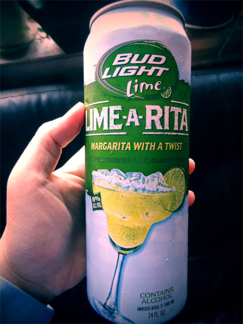 Bud Light Lime A Rita Margarita Beer Me So Hungry