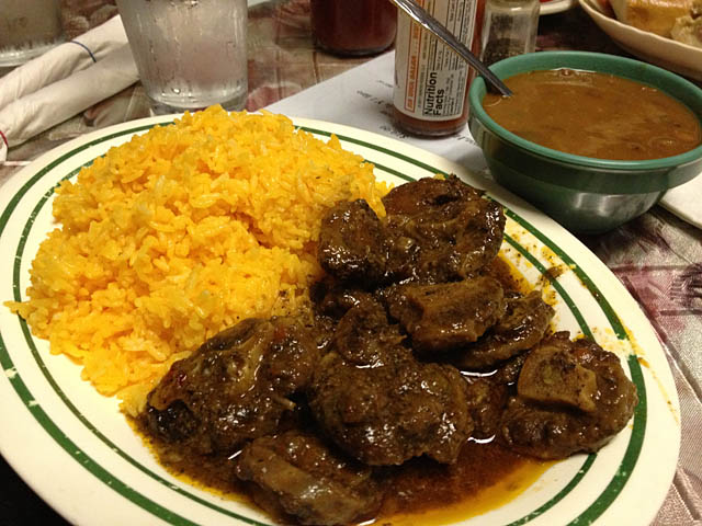 Latin oxtail recipe for American cuisine restaurants near me