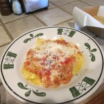09 Olive Garden ravioli 150x150 Tio Wally Eats America: Olive Gardens Dinner Today & Dinner Tomorrow