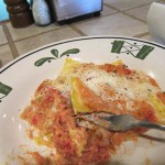 10 Olive Garden ravioli close 150x150 Tio Wally Eats America: Olive Gardens Dinner Today & Dinner Tomorrow