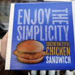 01 McDonald's Southern Style Chicken Sandwich
