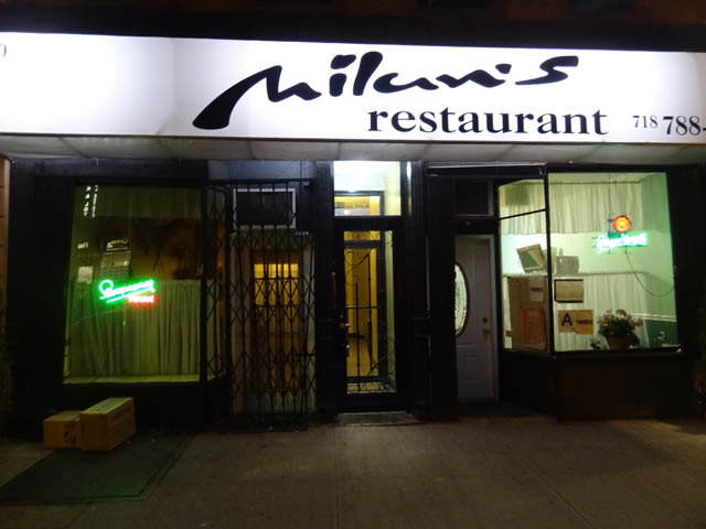 01 Milan's Restaurant - Sunset Park