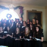 03 Choir White House Holiday Party 150x150 Foodblogging Obamas White House Holiday Party