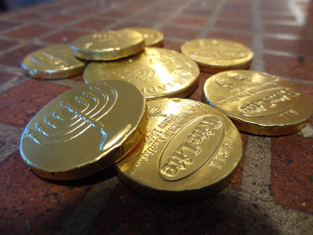 05 Chocolate Gold Coins - Gelt