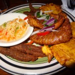 06 Fritaye fried fish platter - La Caye