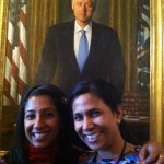 06 Shonali Ruchi Bill Clinton 150x150 Foodblogging Obamas White House Holiday Party