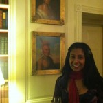 10 Shonali and Indians White House 150x150 Foodblogging Obamas White House Holiday Party