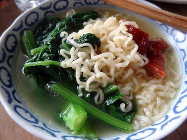 01 My mom made me a bowl of Ramen Noodles
