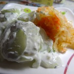 02 Cucumber Salad and Sauerkraut - Lomzynianka