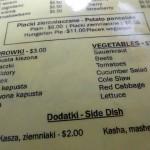 05 menu Lomzynianka 150x150 Lomzyniankas White Borscht Soup