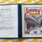 07 Jimmys menu 150x150 Tio Wally Eats America: Jimmy's Down The Street