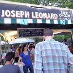 02 Joseph Leonard Fried Chicken Sandwich Stand GoogaMooga 2013 150x150 GoogaMooga 2013 Friday Kickoff Concert