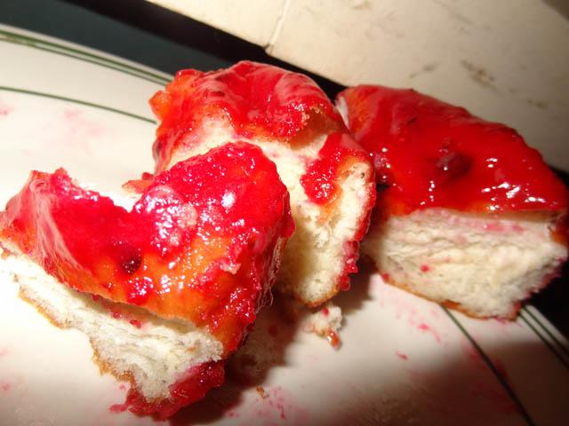 Raspberry Doughnut - Dough