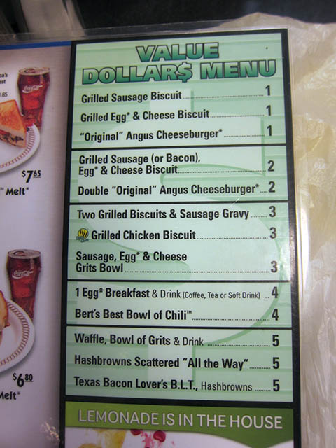 Waffle house menu 2014