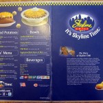04 Skyline menu 150x150 Tio Wally Eats America: Skyline Chili