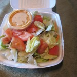 09 Noble salad 150x150 Tio Wally Eats America: Nobles Truck Stop & Clock of Gaffney Restaurant