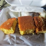 14 CoG cornbread 150x150 Tio Wally Eats America: Nobles Truck Stop & Clock of Gaffney Restaurant