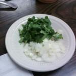 8a Pupuseria Salvadoreña onion cilatro 150x150 Tio Wally Eats America: Pupuseria Salvadoreña #2