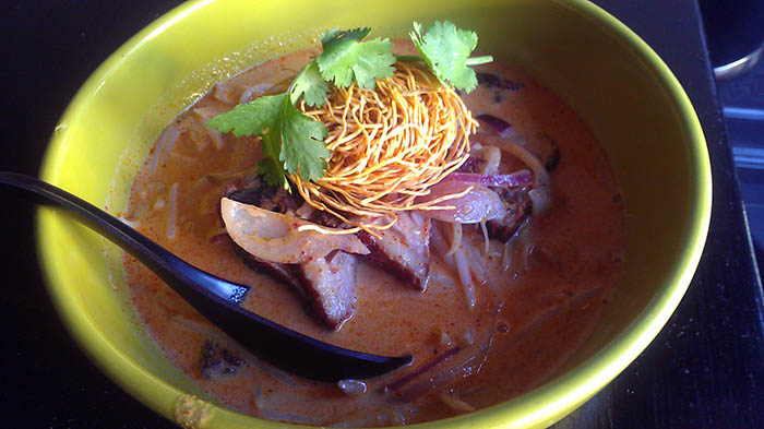Coconut Curry Noodle Soup with Duck - Sage