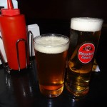 03 Half pint of beer 150x150 Mothers Burger, Fries and Beer Lunch Special $10