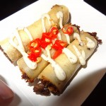 11 Truffled Adobo Mushroom Lumpia Lumpia Shack 150x150 An Adventurous Foodraiser for the Phillippines