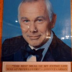 10 Johnny Carson Peter Luger 150x150 Peter Lugers Lunch Burger