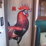 15 Als bathroom door M 150x150 Tio Wally Eats America: Al's Chickenette