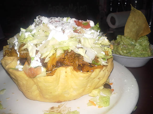 04  Crispy Burrito Bowl - Pedro's Mexican Restaurant