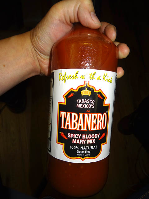 01 Tabanero Spicy Bloody Mary Mix Tabanero Spicy Bloody Mary Mix