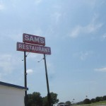 02 Sams sign 150x150 Tio Wally Eats America: Sam's Original Restaurant & BBQ