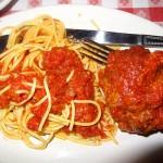 08 Half Pound Meatball Spaghetti Marinara Buca di Beppo 150x150 Buca di Beppo Italian Restaurant