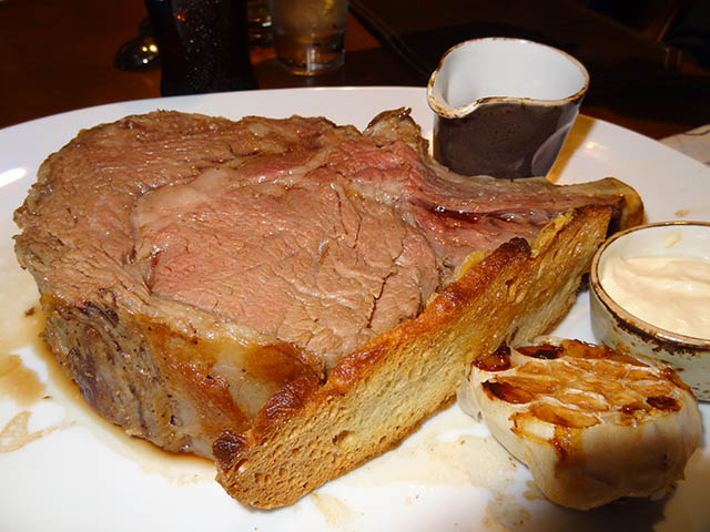 11 Horseradish Crusted Prime Rib - Guy Fieri's Chophouse