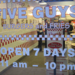 02 Five Guys door 150x150 Tio Wally Eats America: Five Guys Burgers and Fries