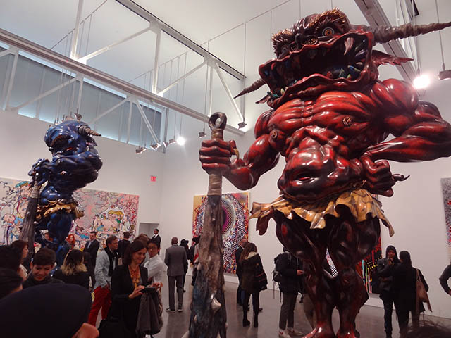 01 Takashi Murakami NYC 2014 Takashi Murakamis New Exhibit and The Bodega (Bushwick)s Sausage
