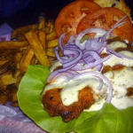 09 Buffalo Chicken Sandwich and Fries The Anchored Inn 150x150 The Anchored Inn