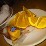 07 Complimentary Orange Slices and Fortune Cookie - Hop Lee Restaurant