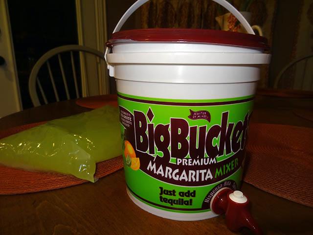 01 Big Bucket Premium Margarita Mix