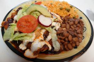 03 Mole Enchilada - Taqueria Izucar